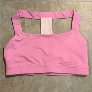 EUC Gapfit t-back pink sport bra